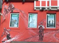 Triberg, Out door hütte, Wandmalerei, Fassadenbemalung