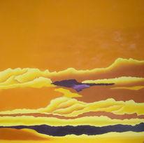 Gelb, Ölmalerei, Stimmung, Malerei