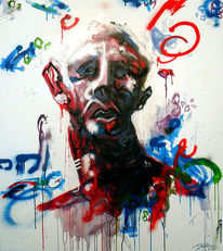 Menschen, Farben, Gedanken, Kopf