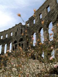 Kroatien, Amphitheater, Fotografie, Reiseimpressionen