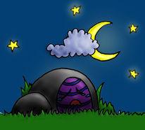 Ostern, Versteck, Nacht, Ei