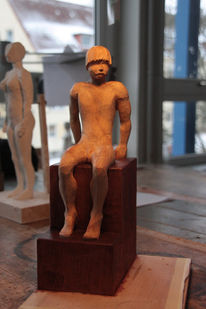 Schnitzkunst, Skulptur, Akt, Plastik