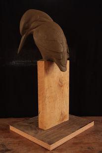Ton, Modell, Tonmodell, Skulptur