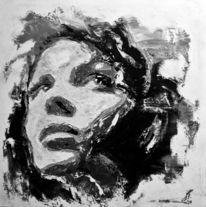 Spachtel, Gesicht, Portrait, Frau