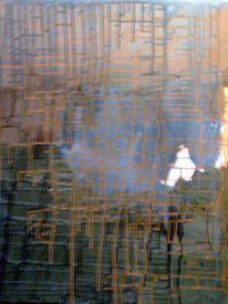 Schwamm, Acrylmalerei, Abstrakt, Malerei