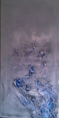 Marmormehl, Spachtelstruktur, Abstrakt, Malerei