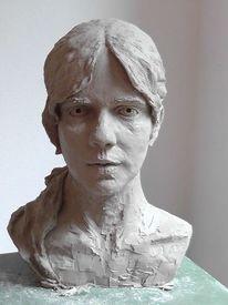 Büste, Skulptur, Weiblich, Portraitbüste