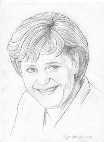 Malerei, Figural, Merkel