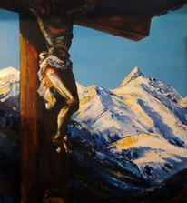 Gipfel, Berge großglockner, Glockner, Herrgott