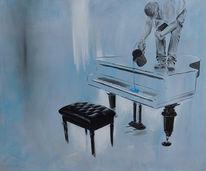 Flügel, Blau, Malerei