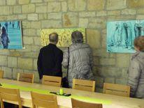 Ausstellung, 2013, Vernissage, Pinnwand