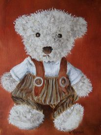 Malerei, Hose, Teddy