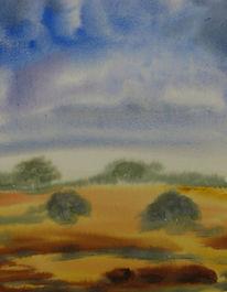 Aquarellmalerei, Malerei, Landschaft