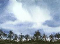 Aquarellmalerei, Aabeck, Malerei, Landschaft