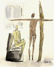 Zeichnung, Franz kafka, Zeichnungen, Fenster