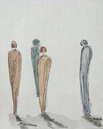 Gemeinschaft, Franz kafka, Zeichnungen