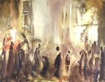 Malerei, Franz kafka, Surreal, Betrachtung