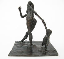 Kleinbronze, Bronze, Plastik, Skulptur
