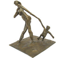 Kleinbronze, Plastik, Bronze, Skulptur