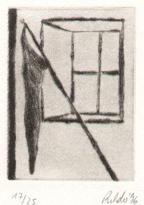 Radierung, Rilke, Cornet, Druckgrafik