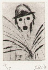 Cornet, Radierung, Rilke, Druckgrafik