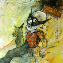 Malen, Malerei, Street art, Batman