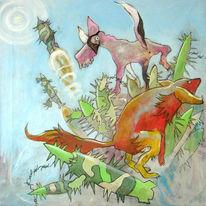 Farben, Scheiß, Illustration, Cartoon