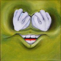 Lachen, Wand, Gestaltung, Nichtssagen