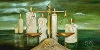 Entscheidung, Kerzenschein, Himmel, Schein