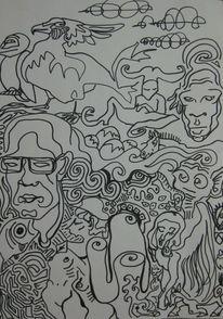 Linie, Till, Figur, Zeichnungen
