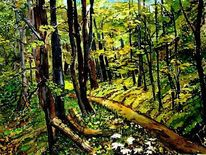 Wald, Aquarell