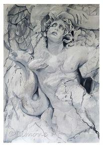 Gigantomachie, Marmor, Pergamon, Grisaille
