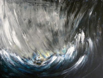 Meer, Sturm, Schiff, See