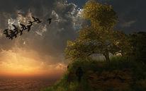 Ankunft, Ruhe, Besinnung, Digitale kunst