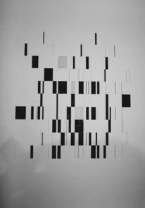 Tusche, Malerei, Abstrakt, Musik