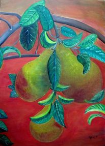 Ernte, Obst, Herbst, Rot