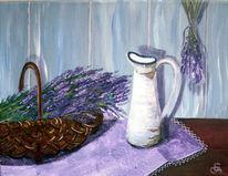 Lila, Korb, Lavendel, Krug