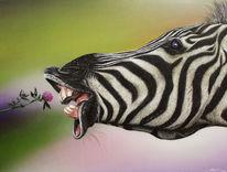 Sprühdose, Airbrush, Zoofitti, Zebra