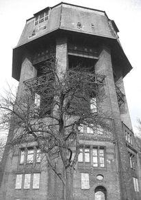 Wasserturm, Turm, Malerei