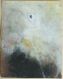 Malerei, Abstrakt, Karton, Bruder