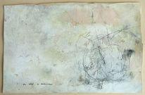 Malerei, Abstrakt, Karton, Schaf