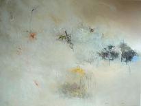 Malerei, Abstrakt, Mischtechnik, Ausflug
