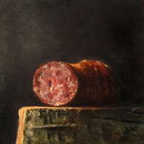 Realismus, Salami, Essen, Wurst
