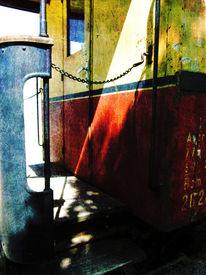 Blech, Kette, Rot, Eisenbahn