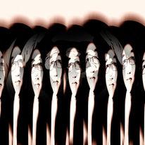Gesicht, Fotografie, Frau, Kopf