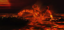 Feuer, Ausdauer, Hölle, Läuterung