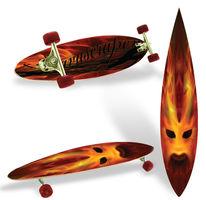 Brett, Flammen, Skateboard, Feuer