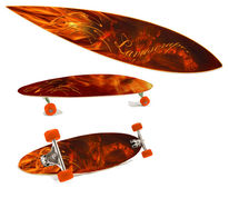 Lava, Rolle, Skateboard, Lifestyle
