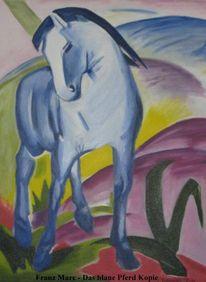 Franz marc, Pferde, Malerei, Tiere