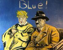 Trump, Kutsche, Malerei,
